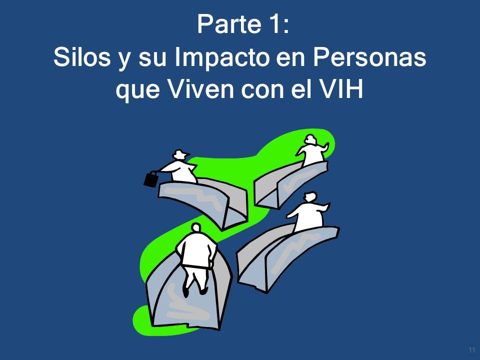 Parte 1: Silos y su Impacto en Personas que Viven con el VIH 11