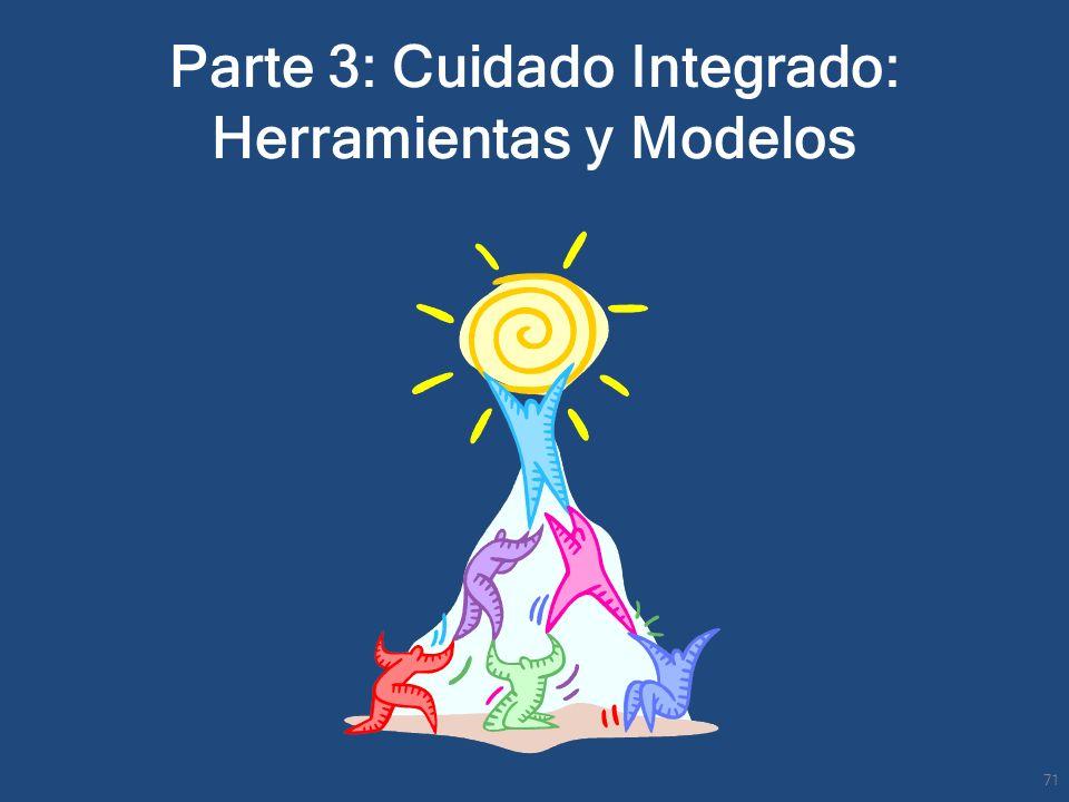 Parte 3: Cuidado Integrado: Herramientas y Modelos 71