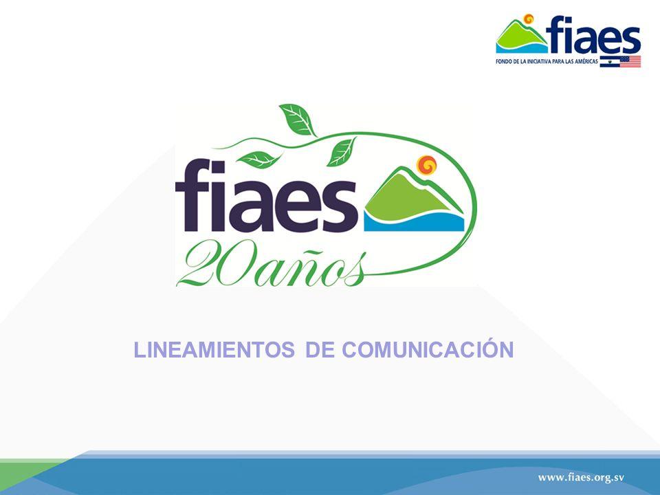 LINEAMIENTOS DE COMUNICACIÓN