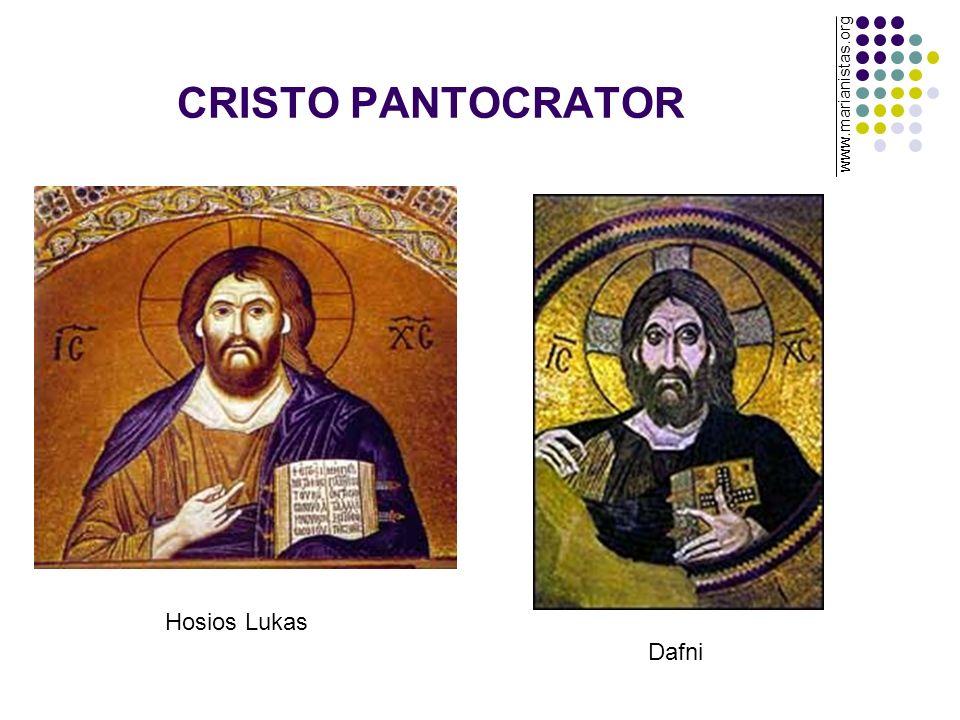 CRISTO PANTOCRATOR Hosios Lukas Dafni www.marianistas.org