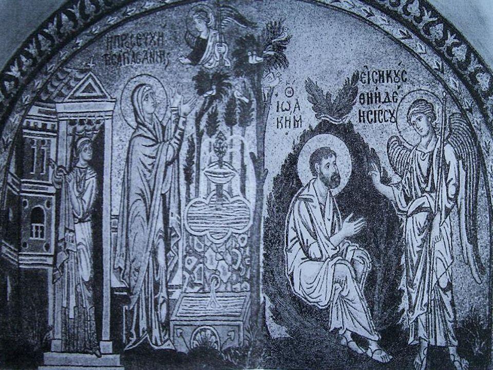 CICLO SOBRE LA VIRGEN Presentación de la Virgen en el Templo Bendición de la VirgenAnunciación a San Joaquín y a Santa Ana