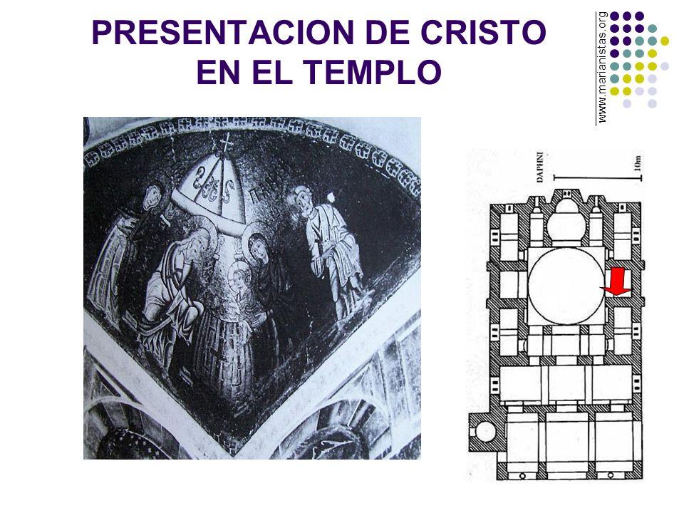 PRESENTACION DE CRISTO EN EL TEMPLO www.marianistas.org