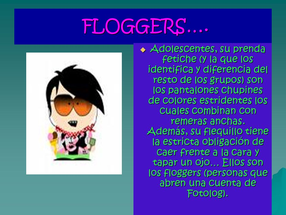 FLOGGERS….FLOGGERS….