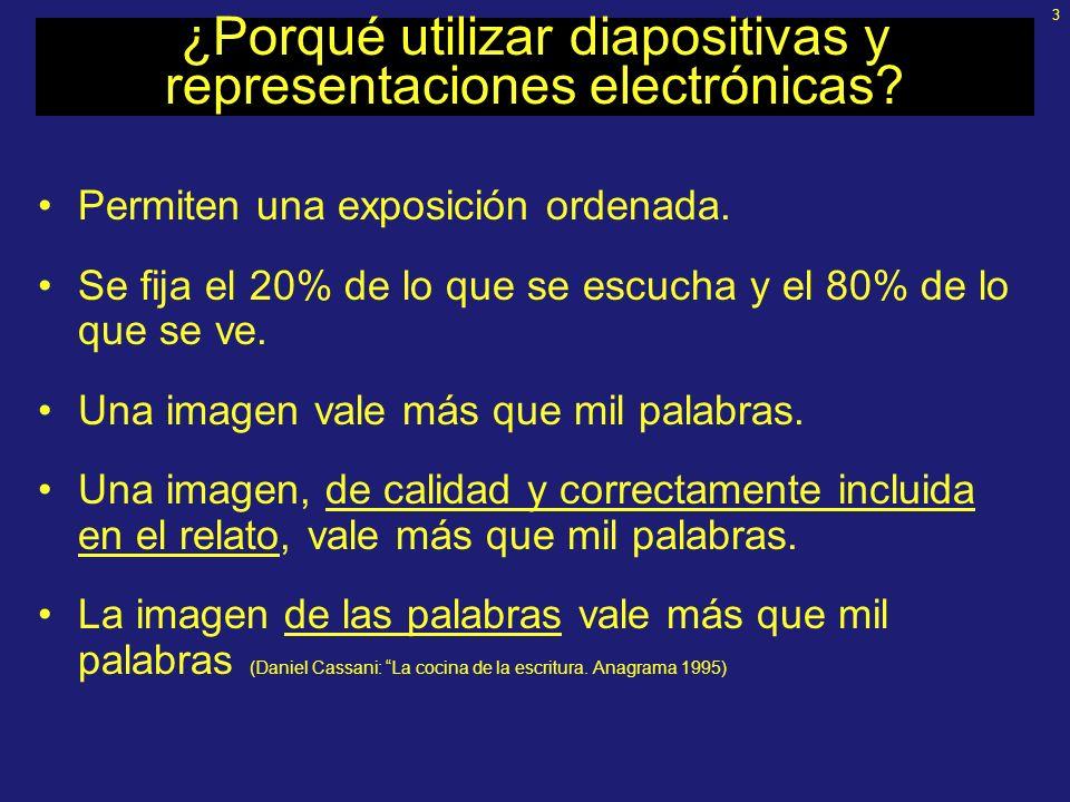 2 Contenidos Elección de las herramientas Aspectos generales de presentaciones Generalidades de PowerPoint (PP) Desarrollo de una presentación en PP D