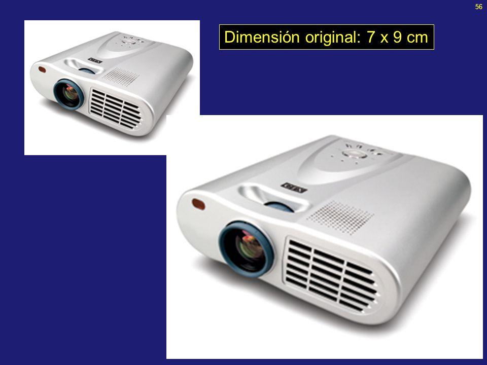 55 Inserción de imágenes Tomar en cuenta lo desarrollado en la clase anterior (introducción a la manipulación de imágenes digitales) –Presentaciones e