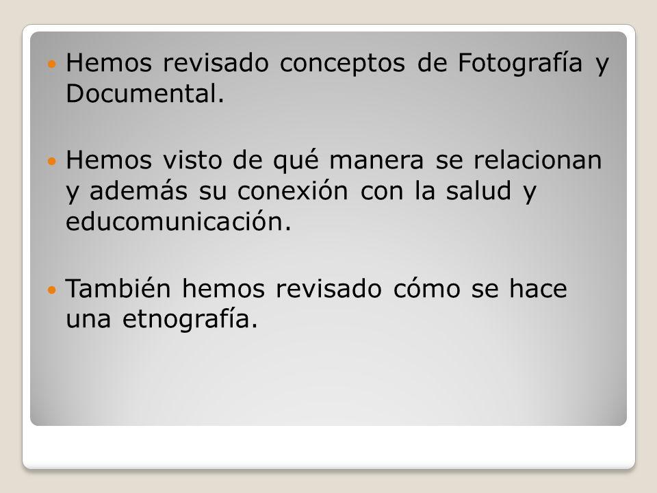 Mi proyecto Fotodocumental Estructura de proyecto, no de investigación.