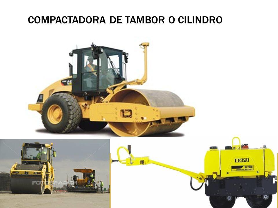 COMPACTADORA DE TAMBOR O CILINDRO