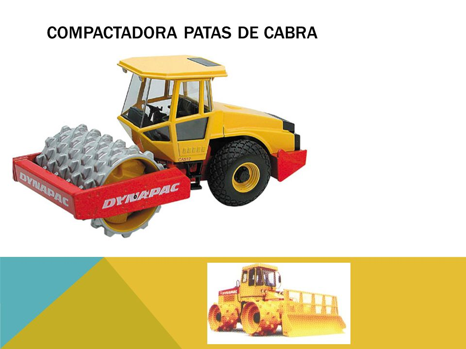 COMPACTADORA PATAS DE CABRA