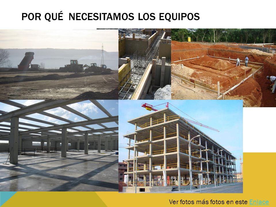 Ver fotos más fotos en este EnlaceEnlace POR QUÉ NECESITAMOS LOS EQUIPOS