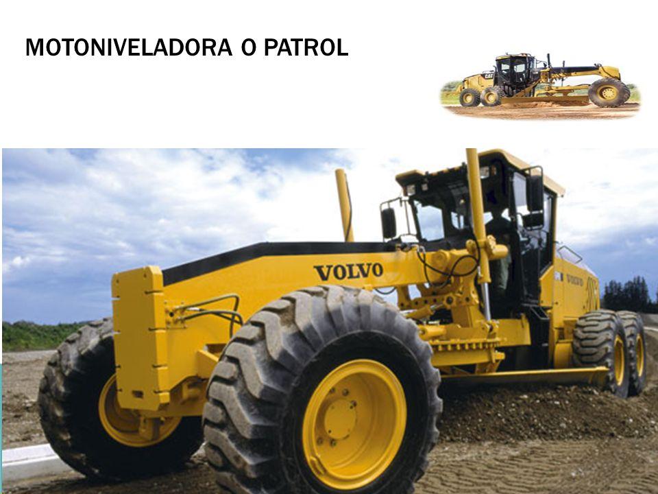 MOTONIVELADORA O PATROL