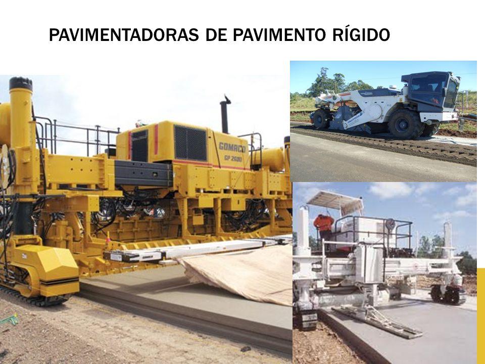 PAVIMENTADORAS DE PAVIMENTO RÍGIDO