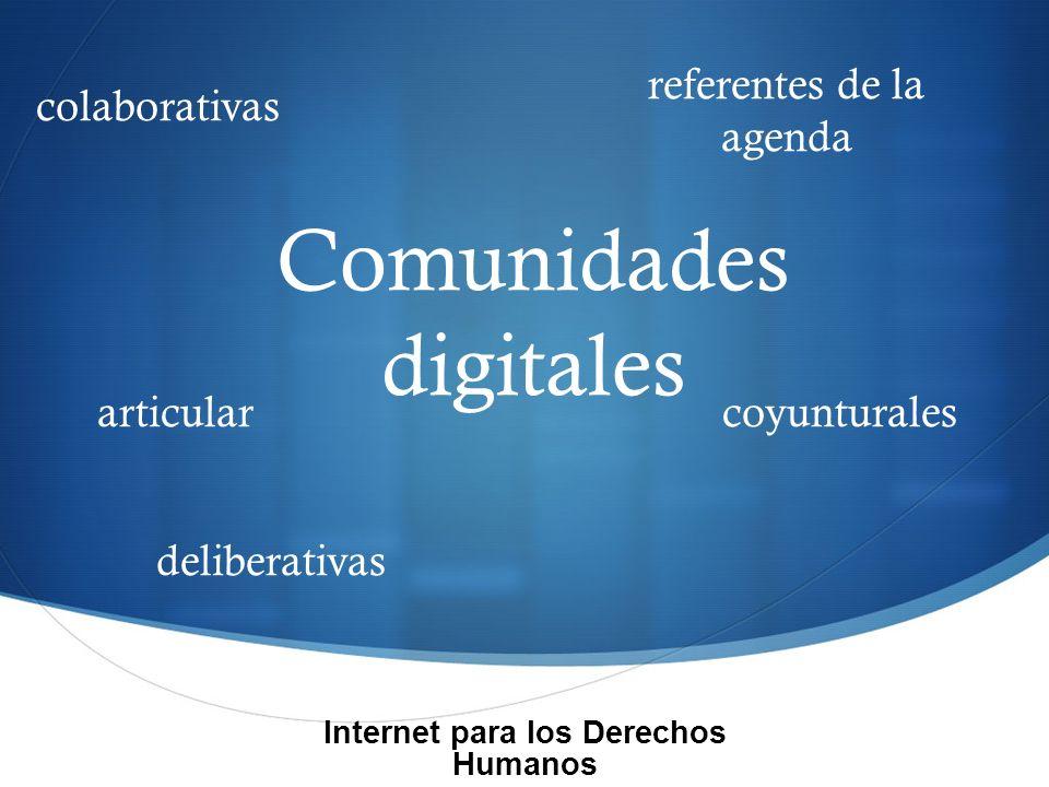 Tareas todxs a participar medición de impacto diversificar plataformas construir estrategia digitalizar contenidos multimedia Internet para los Derechos Humanos