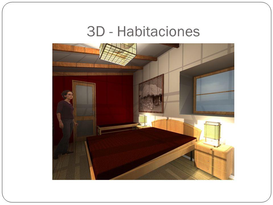 3D - Habitaciones