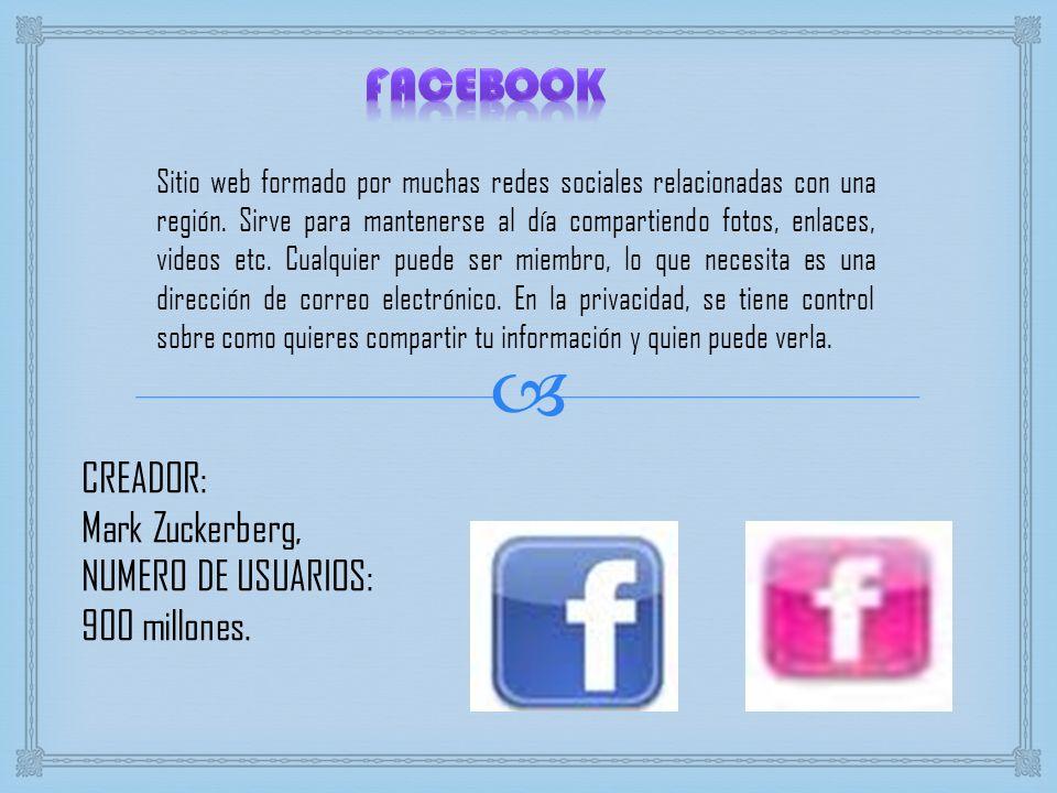 Sitio web formado por muchas redes sociales relacionadas con una región. Sirve para mantenerse al día compartiendo fotos, enlaces, videos etc. Cualqui