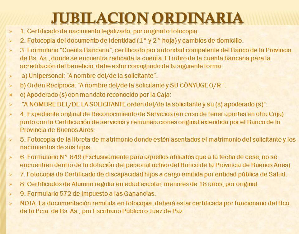 CAJA DE JUBILACIONES CAJA DE JUBILACIONES Y SUBSIDIOS DEL PERSONAL DEL BANCO DE LA PROVINCIA DE BUENOS AIRES DE BUENOS AIRES