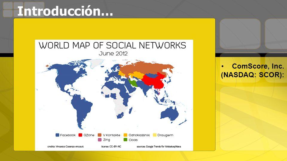 Introducción… ComScore, Inc. (NASDAQ: SCOR):