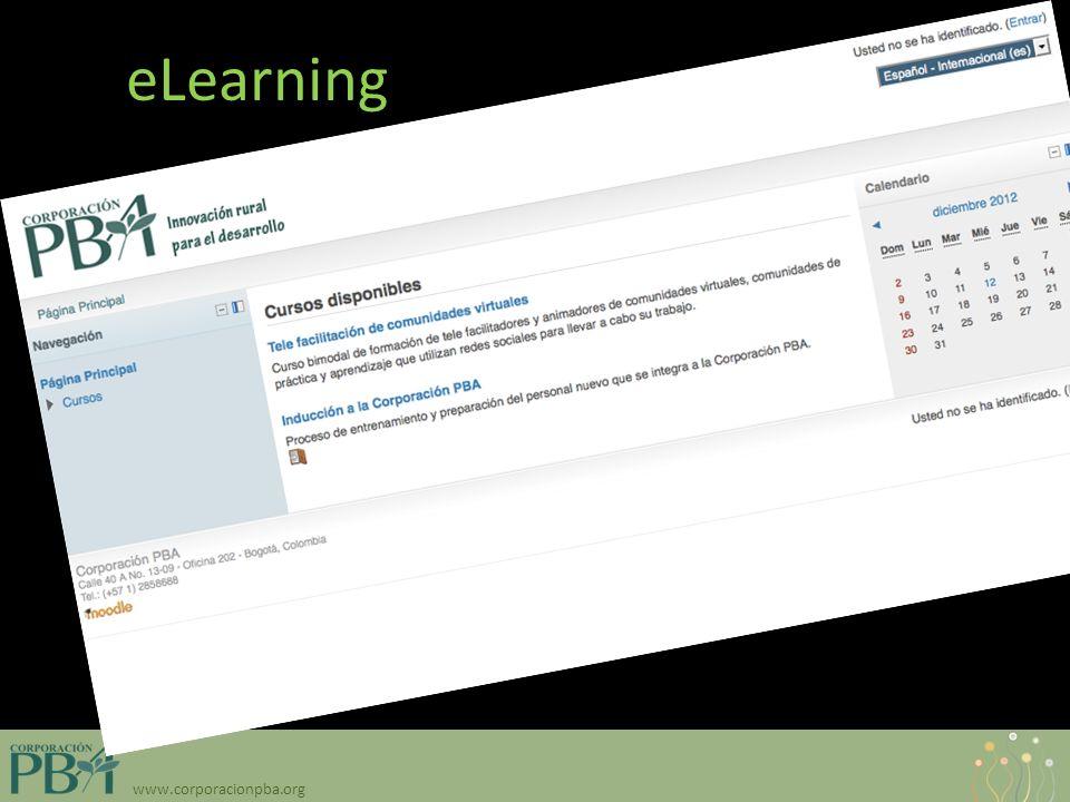 www.corporacionpba.org eLearning