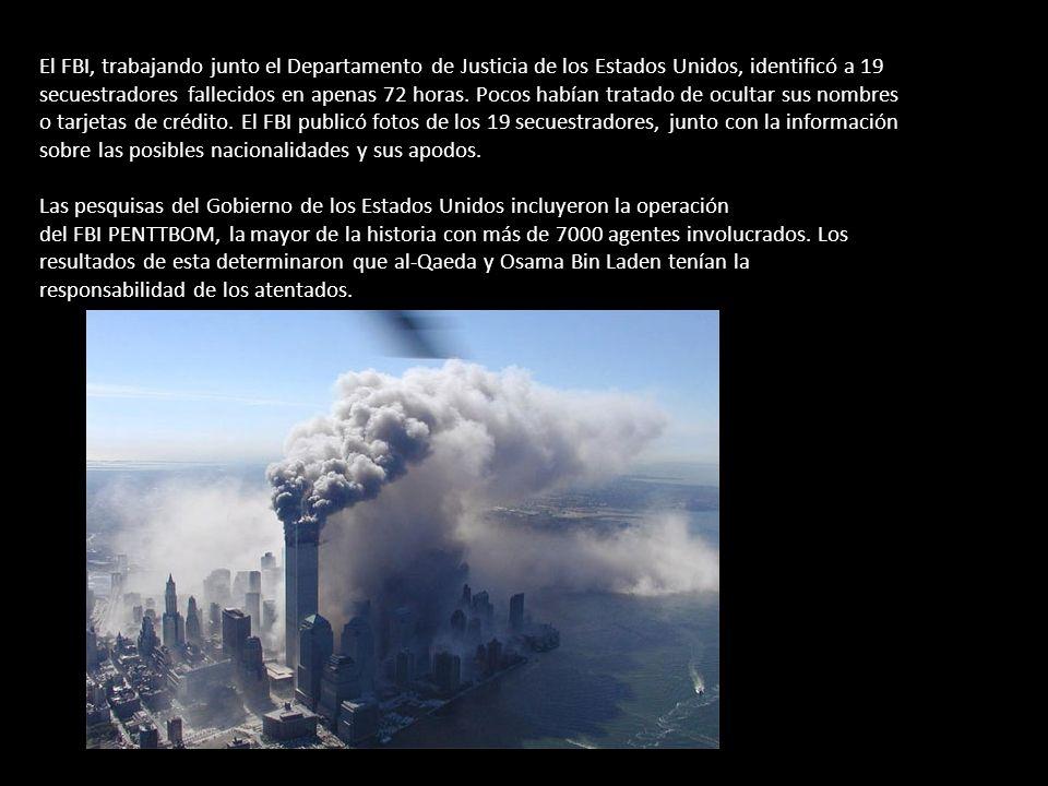 Según las conclusiones de las investigaciones oficiales del gobierno estadounidenses, los ataques cumplían con la intención declarada de al-Qaeda.