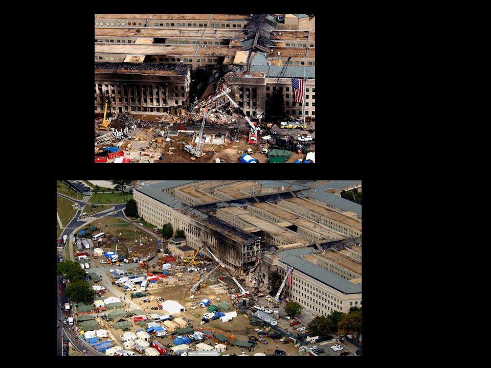 Consecuencias 2.973 personas perdieron la vida 125 muertos dentro del edificio del Pentágono 343 bomberos del departamento de bomberos de Nueva York 23 policías del Departamento de policía.