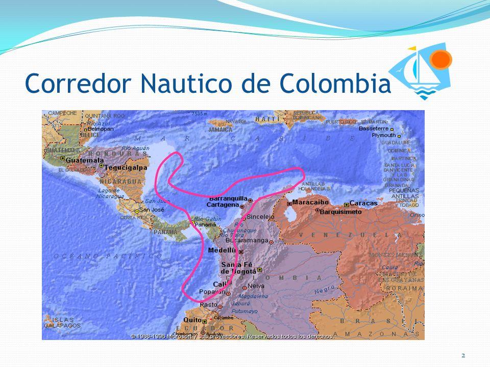 CORREDOR NAUTICO TURISTICO COLOMBIANO I ForoNáuticoTurístico de Colombia Marzo 18 de 2011 Santa Marta 1
