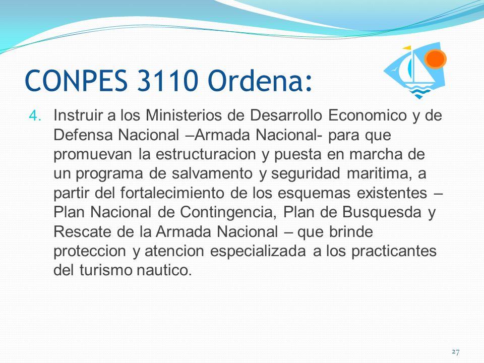 Propuestas: Insistir en una reglamentación para el transporte nautico turístico comercial (Toures acuáticos) que permita la libertad de navegación con seguridad.