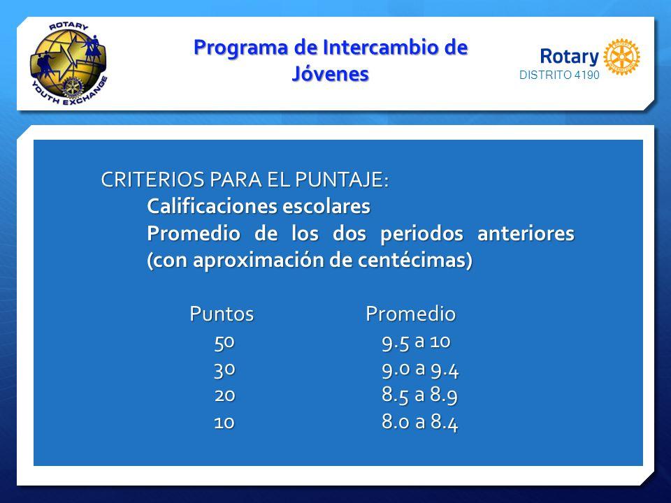 DISTRITO 4190 GRACIAS!!!