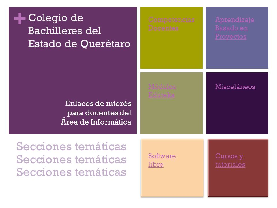 + COBAQ Descripción del Sitio Base: el administrador de base de datos Enlace http://es.wikibooks.org/wiki/OpenOffice.org/Base:_el_administra dor_de_base_de_datos Software libre 32