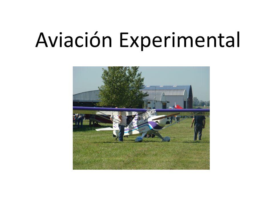 ¿Porque se denomina aviación experimental.