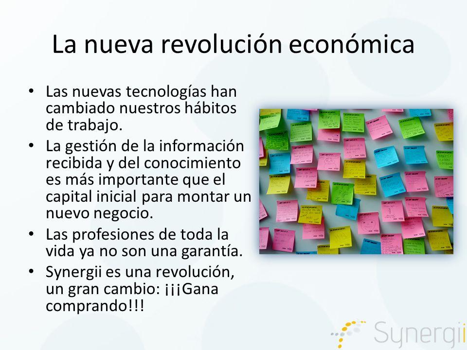 La nueva revolución económica Las nuevas tecnologías han cambiado nuestros hábitos de trabajo.