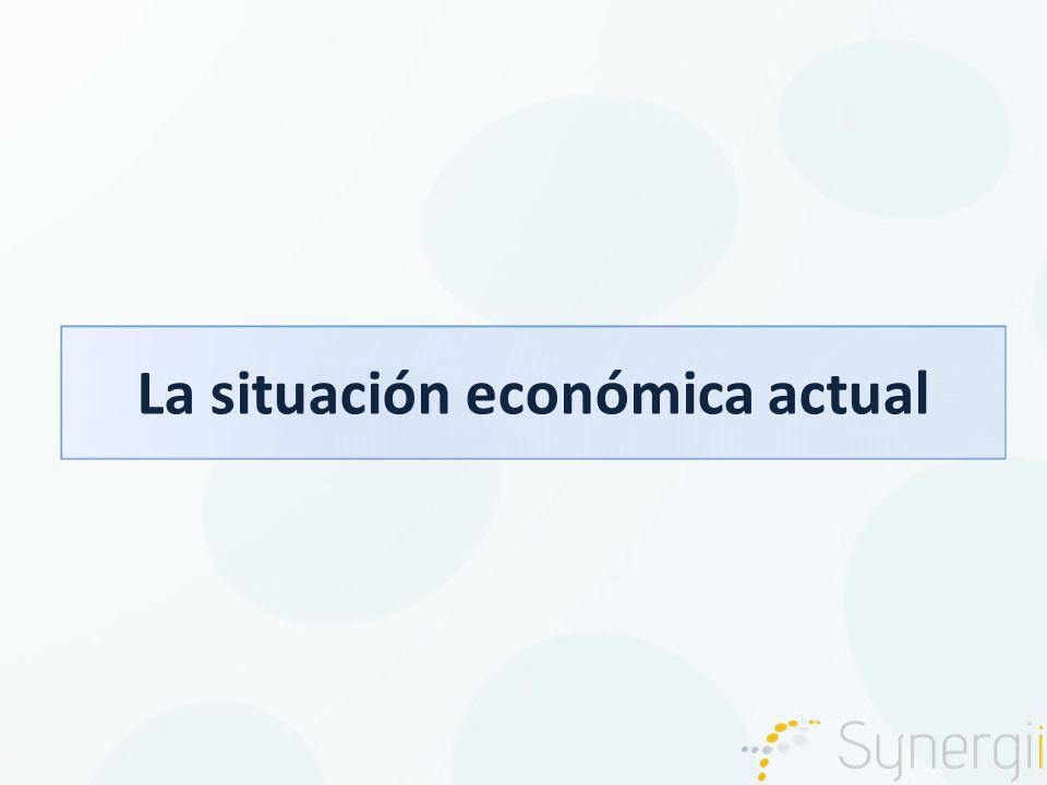 La situación económica actual