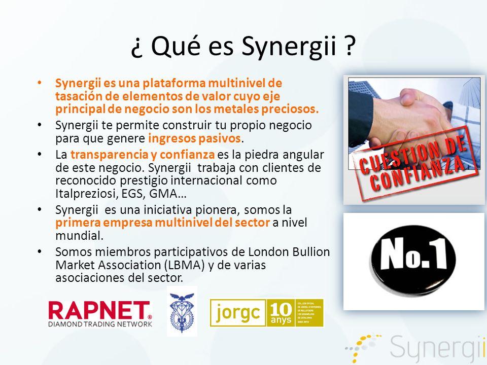 ¿ Qué es Synergii .