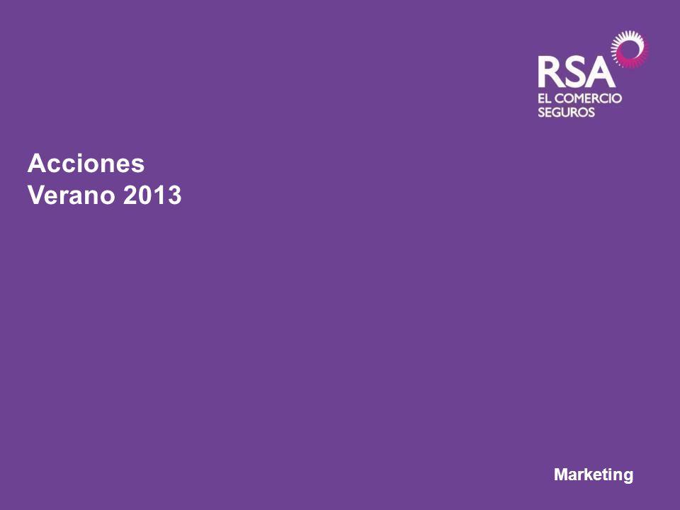 Marketing Acciones Verano 2013