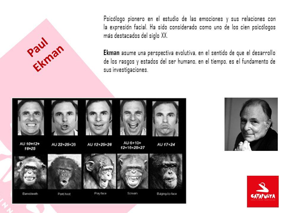 Psicólogo pionero en el estudio de las emociones y sus relaciones con la expresión facial.