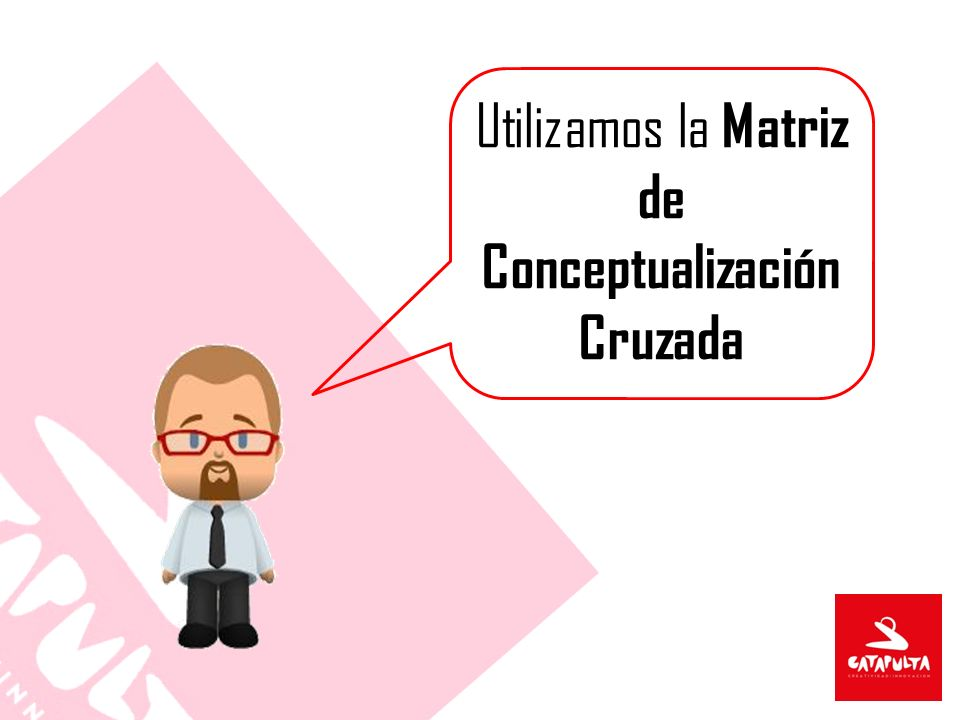 Utilizamos la Matriz de Conceptualización Cruzada