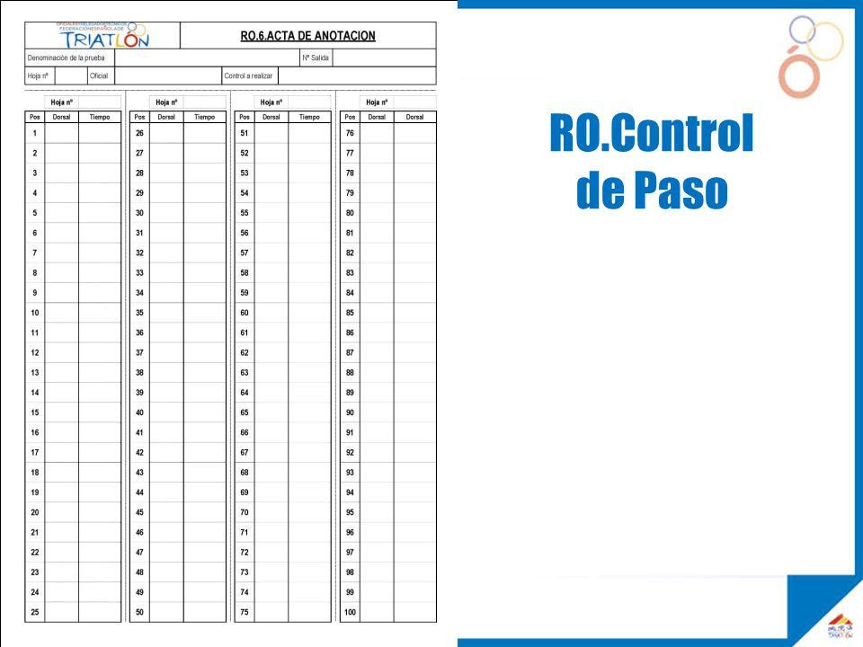 RO.Control de Paso