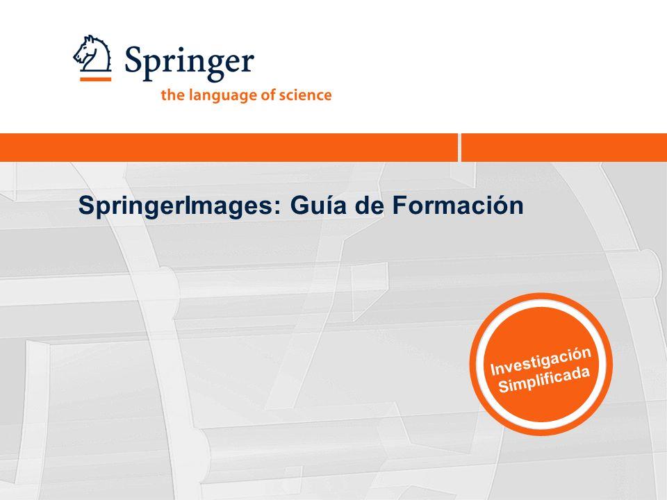 SpringerImages: Guía de Formación Investigación Simplificada