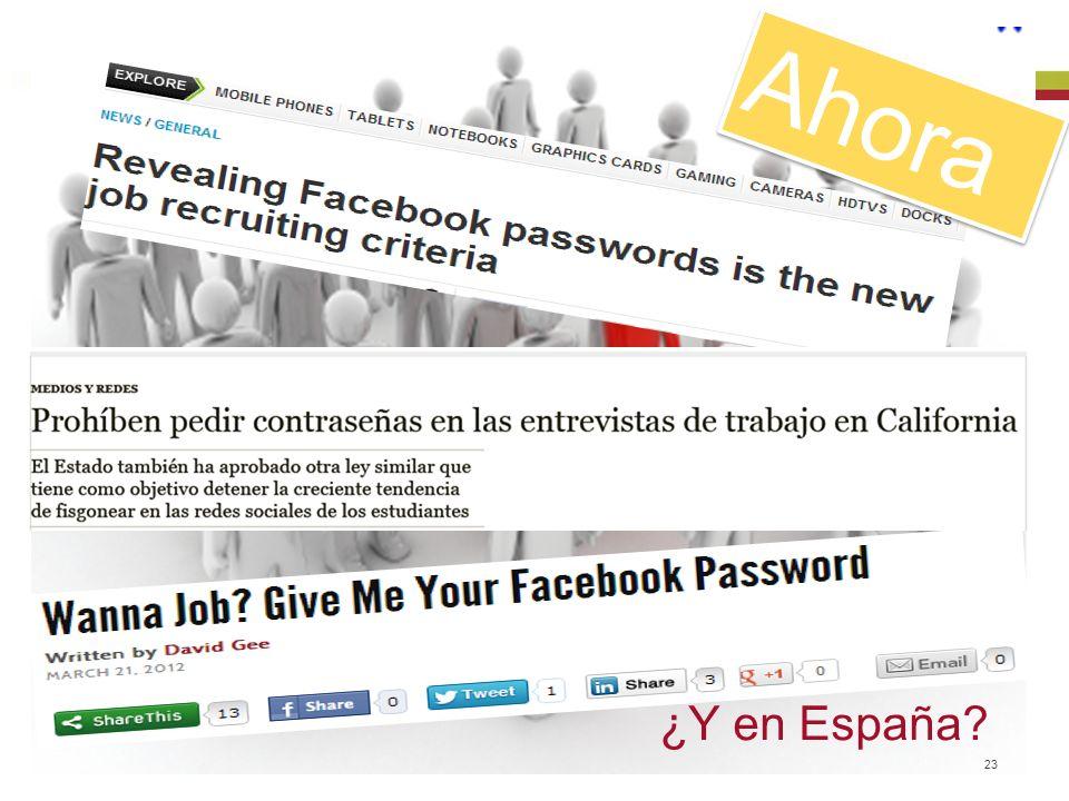 © 2013 Baker & McKenzie Madrid, S.L.P. 23 Ahora ¿Y en España?