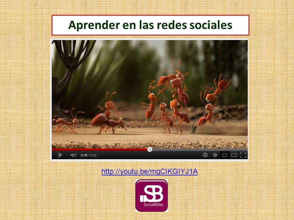 http://youtu.be/mgCIKGIYJ1A Aprender en las redes sociales