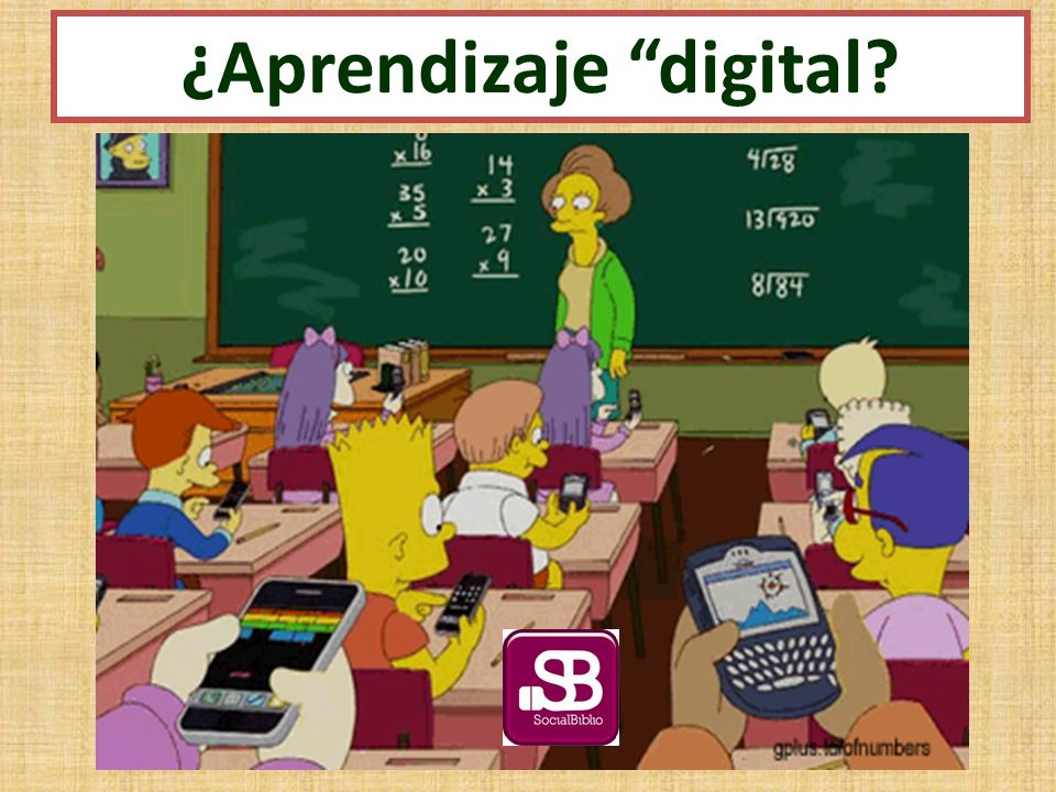 ¿Aprendizaje digital