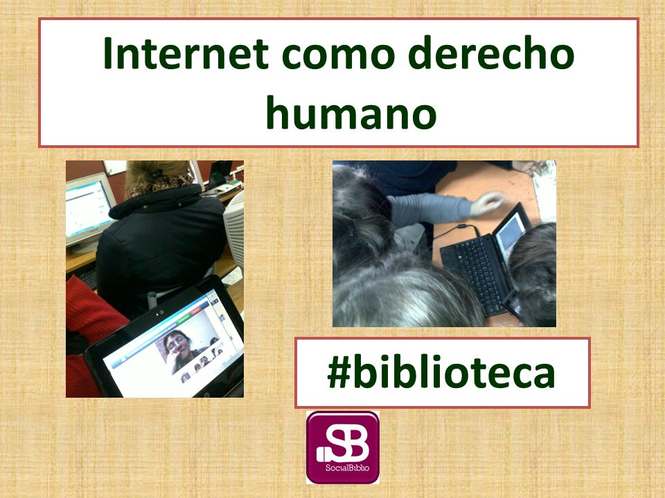 Nueva red social: So.cl Internet como derecho humano #biblioteca