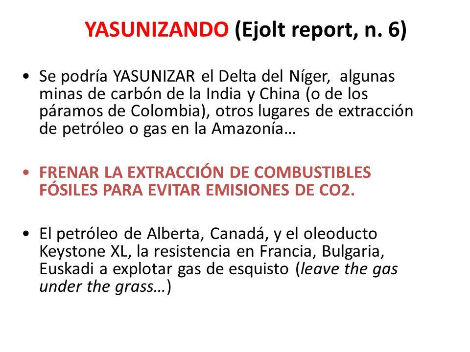 YASUNIZANDO (Ejolt report, n.