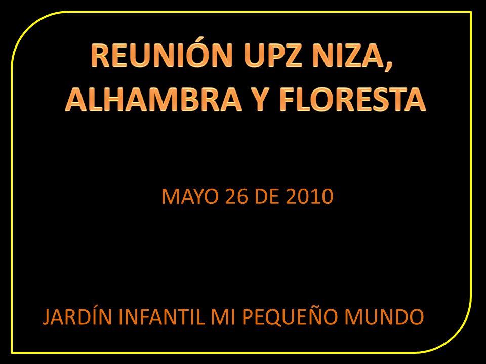 MAYO 26 DE 2010 JARDÍN INFANTIL MI PEQUEÑO MUNDO