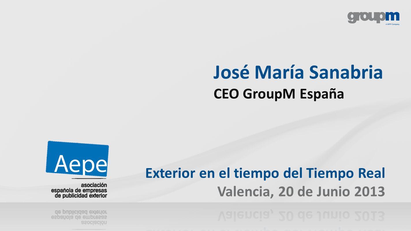 José María Sanabria CEO GroupM España