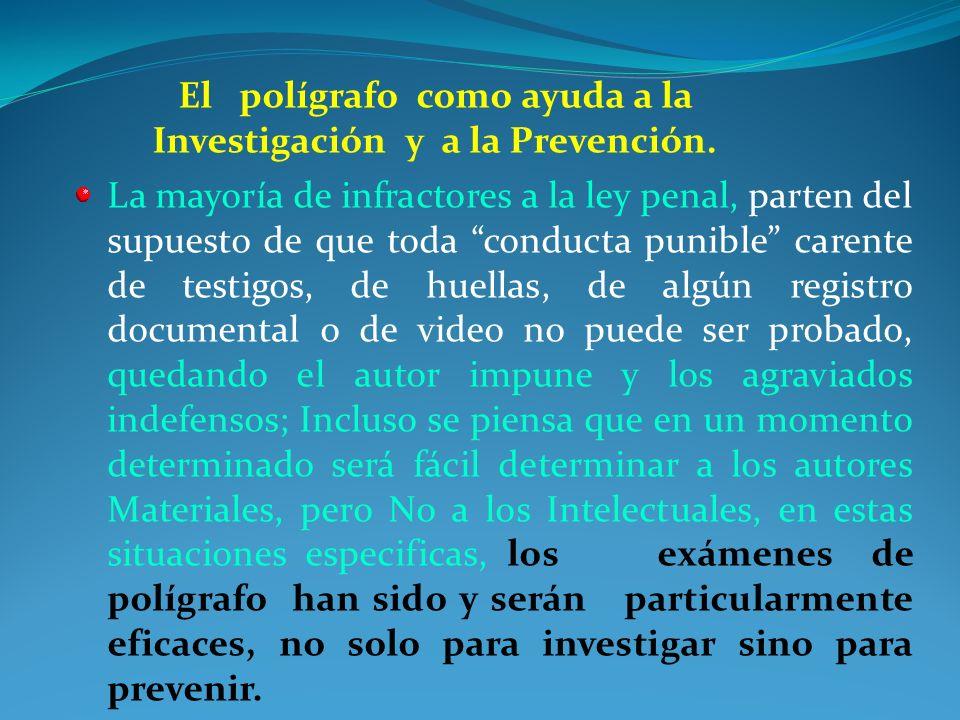 CriminalísticaPoligrafía Perito: Profesional especializado en una área de la ciencia ó arte, que cumple con la función de carácter litigioso. El Polig