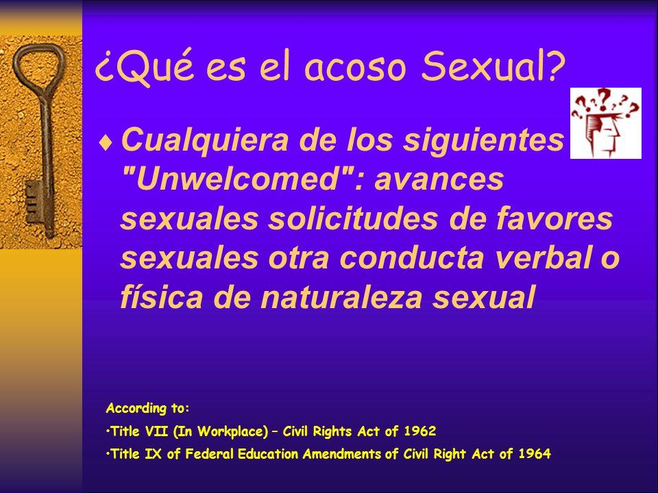 La palabra clave es UNWELCOMED Conducta que puede ser ofensivo para una persona no puede ser para otro.