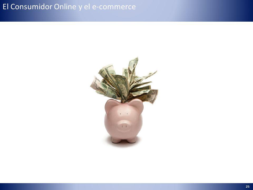 25 El Consumidor Online y el e-commerce