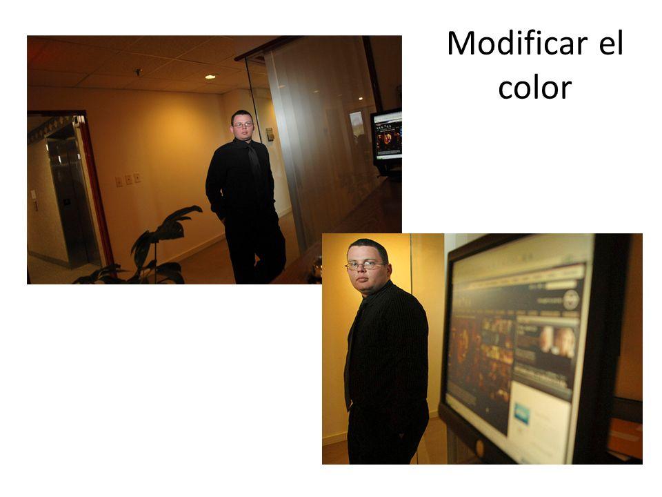 Modificar el color