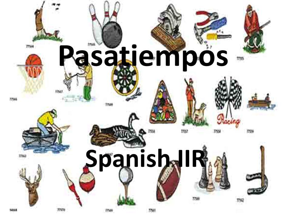 Pasatiempos Spanish IIR