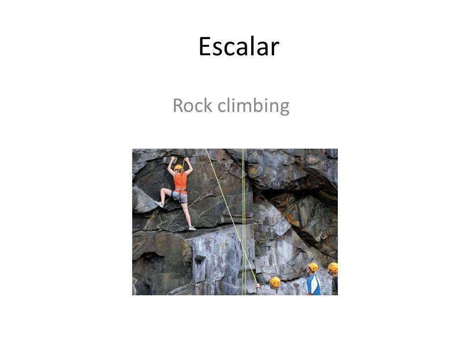 Escalar Rock climbing
