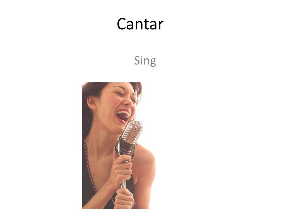 Cantar Sing